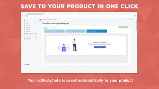Save your edits directly to your product
