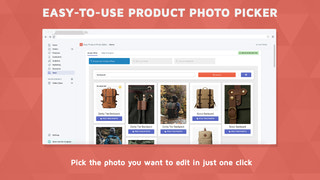 Pick a photo in one click