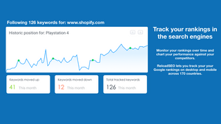 Track your keywords, or those of your competitors