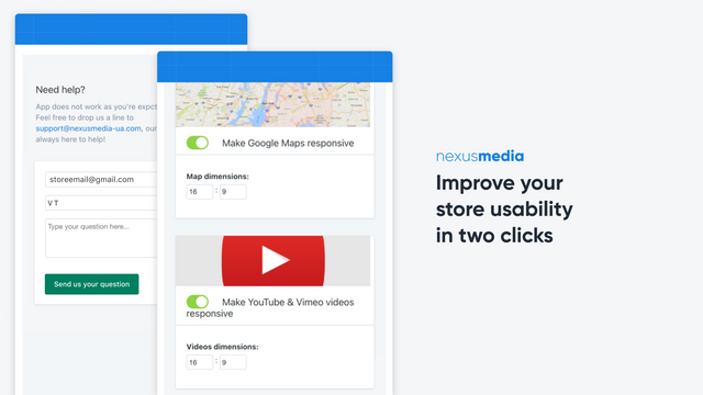 Improve your store usability in two clicks