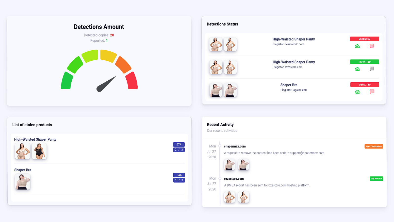 See what's going on in Dashboard