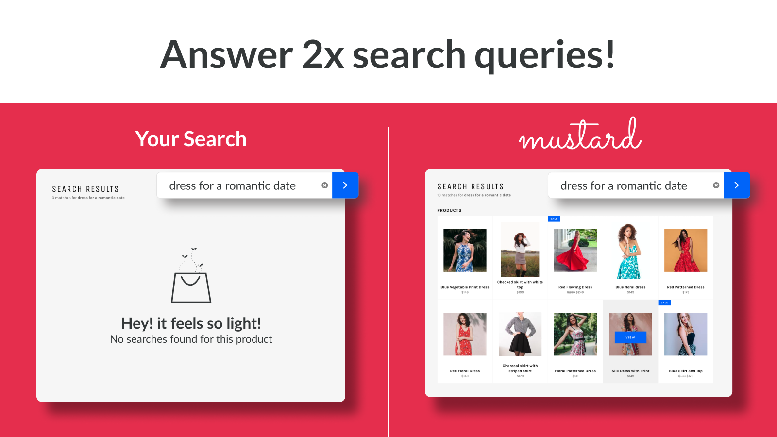 Give your store the search superpowers it deserves!