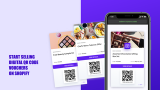 Sell Shopify products as QR code vouchers