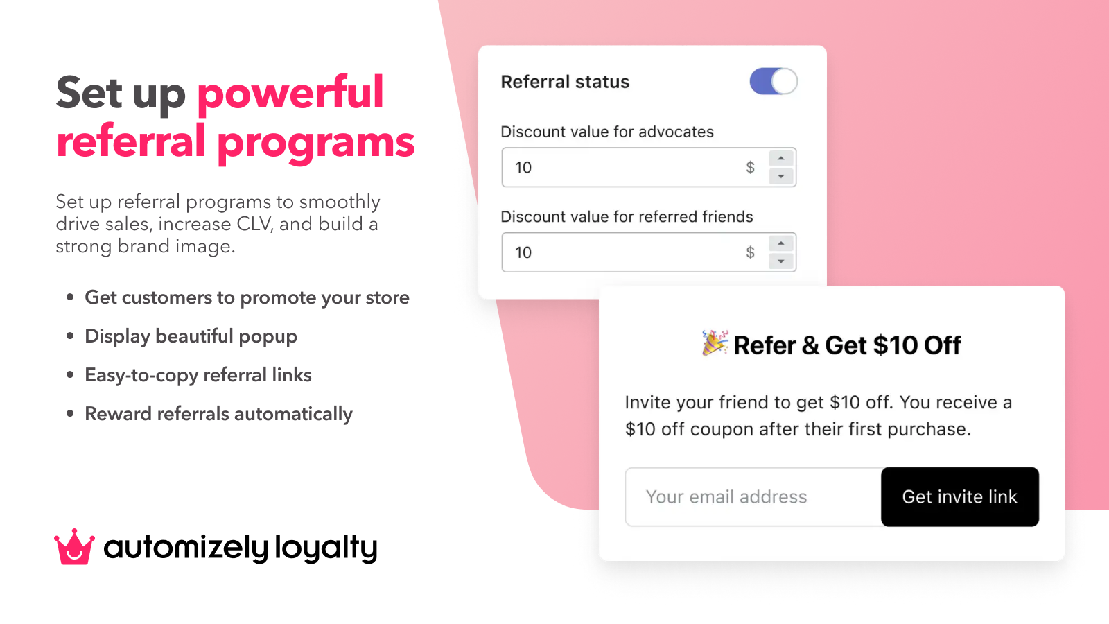 Set Up Powerful Referral Programs