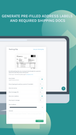 Easyship generates pre-filled shipping labels and VAT documents.