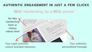 Authentic engagement in just a few clicks