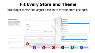 widget that fits any store