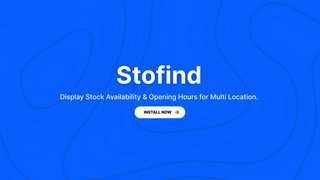 Stofind cover
