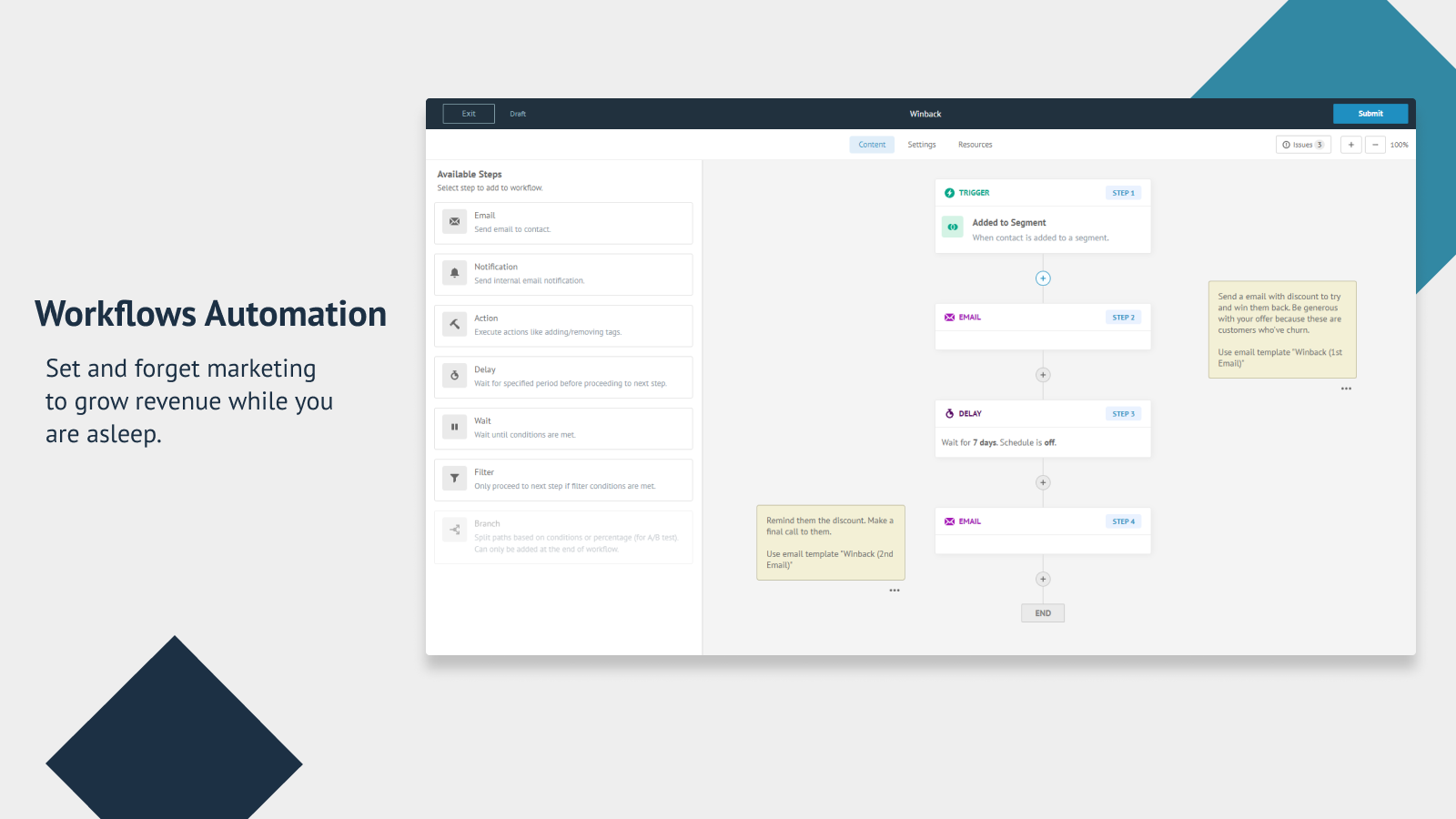 Workflows Automation