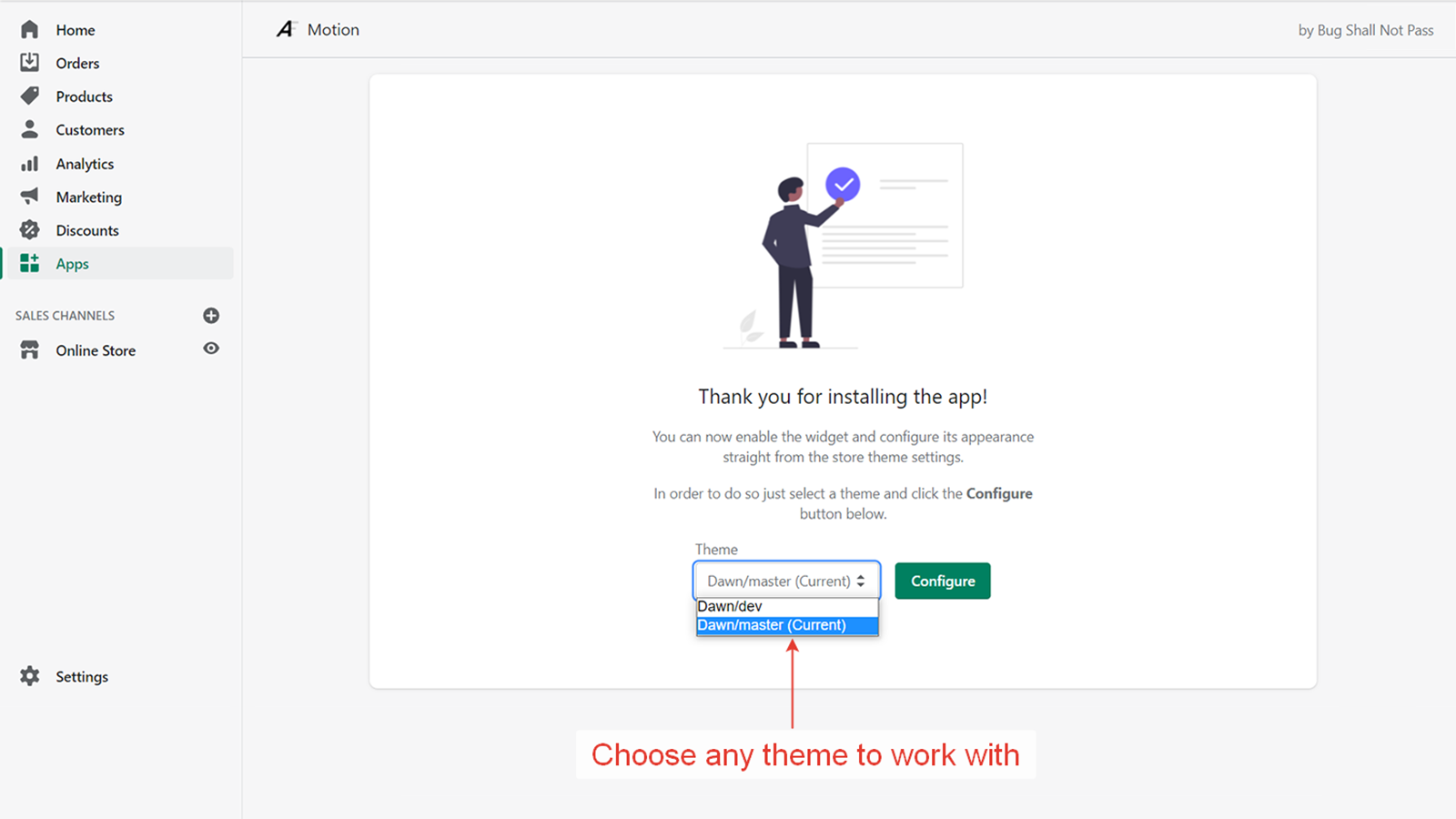 Choose any theme to work with
