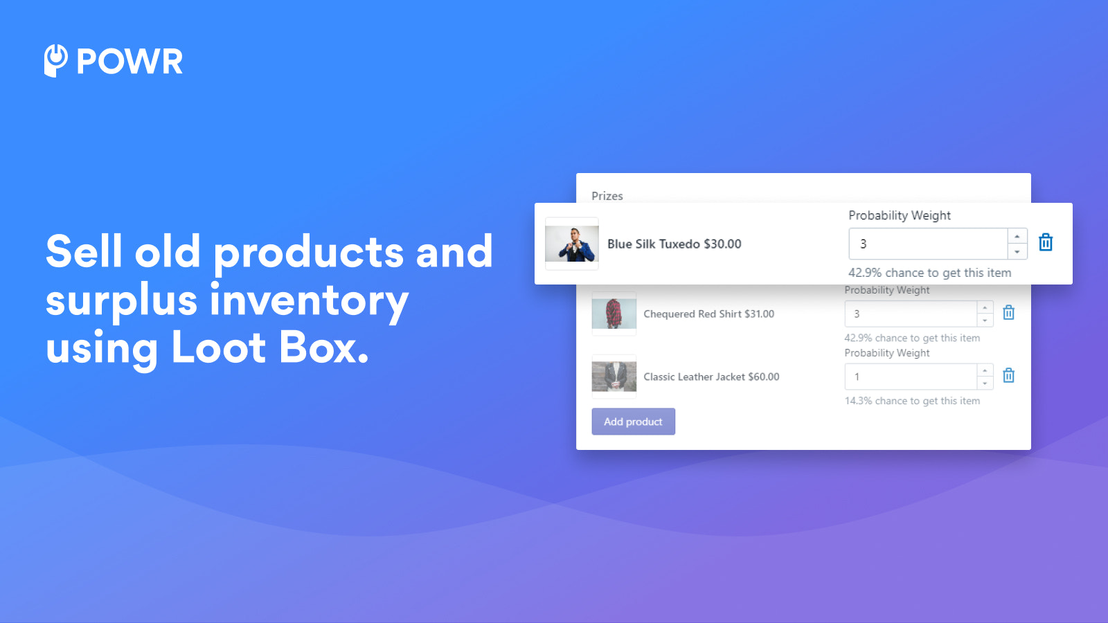 Manage your inventory with Loot Box.