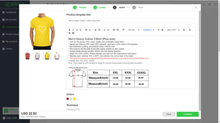 Create the product descriptions