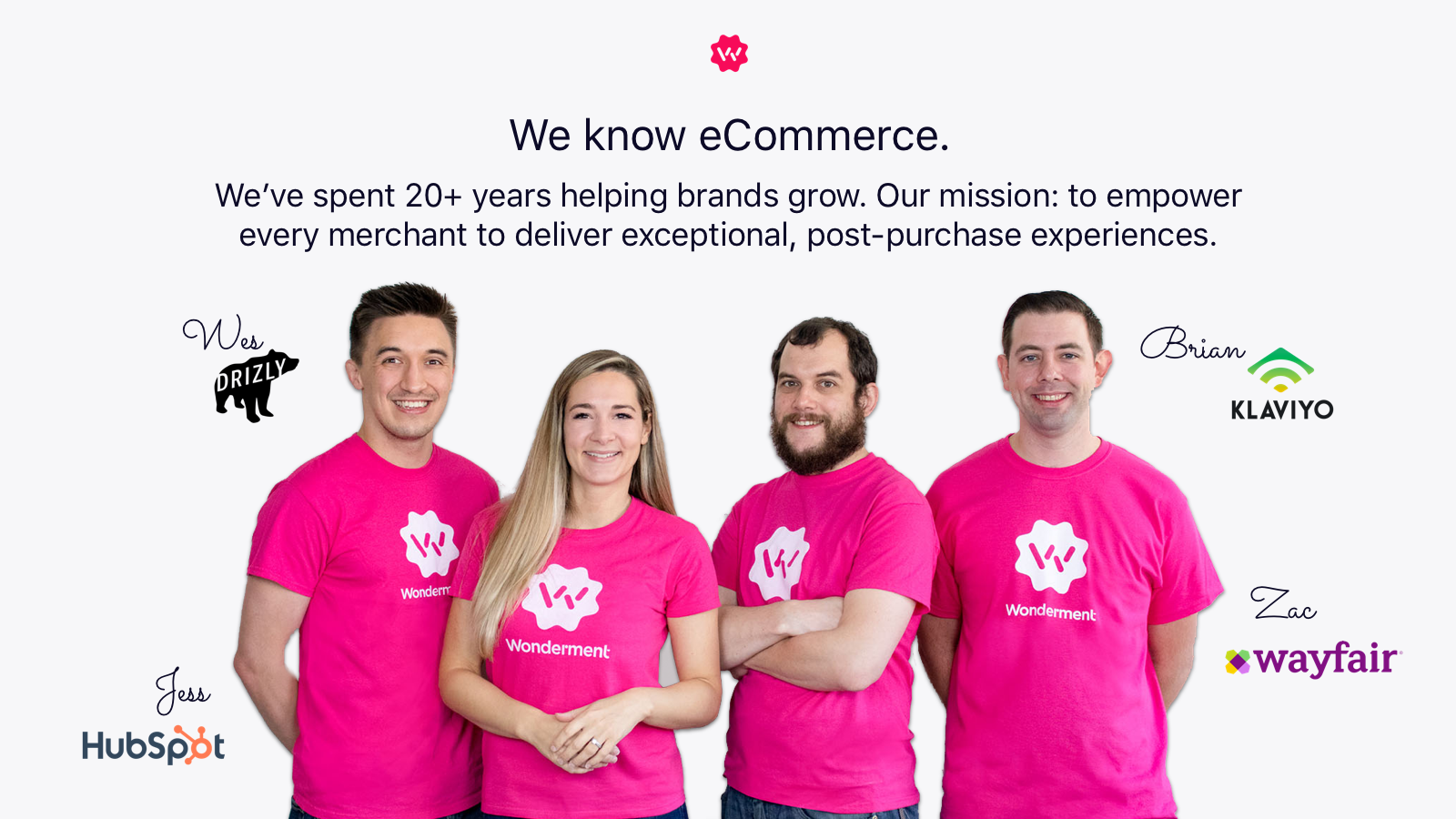 Built by eCommerce experts