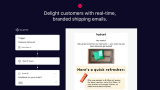 Send branded shipping notifications w/ Klaviyo integration