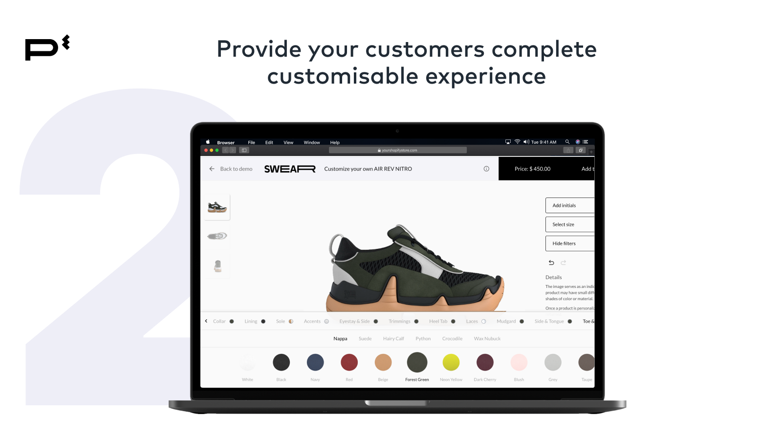 Customers Customisable Experience