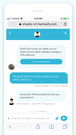 Chat with customers in real time and offer amazing service.