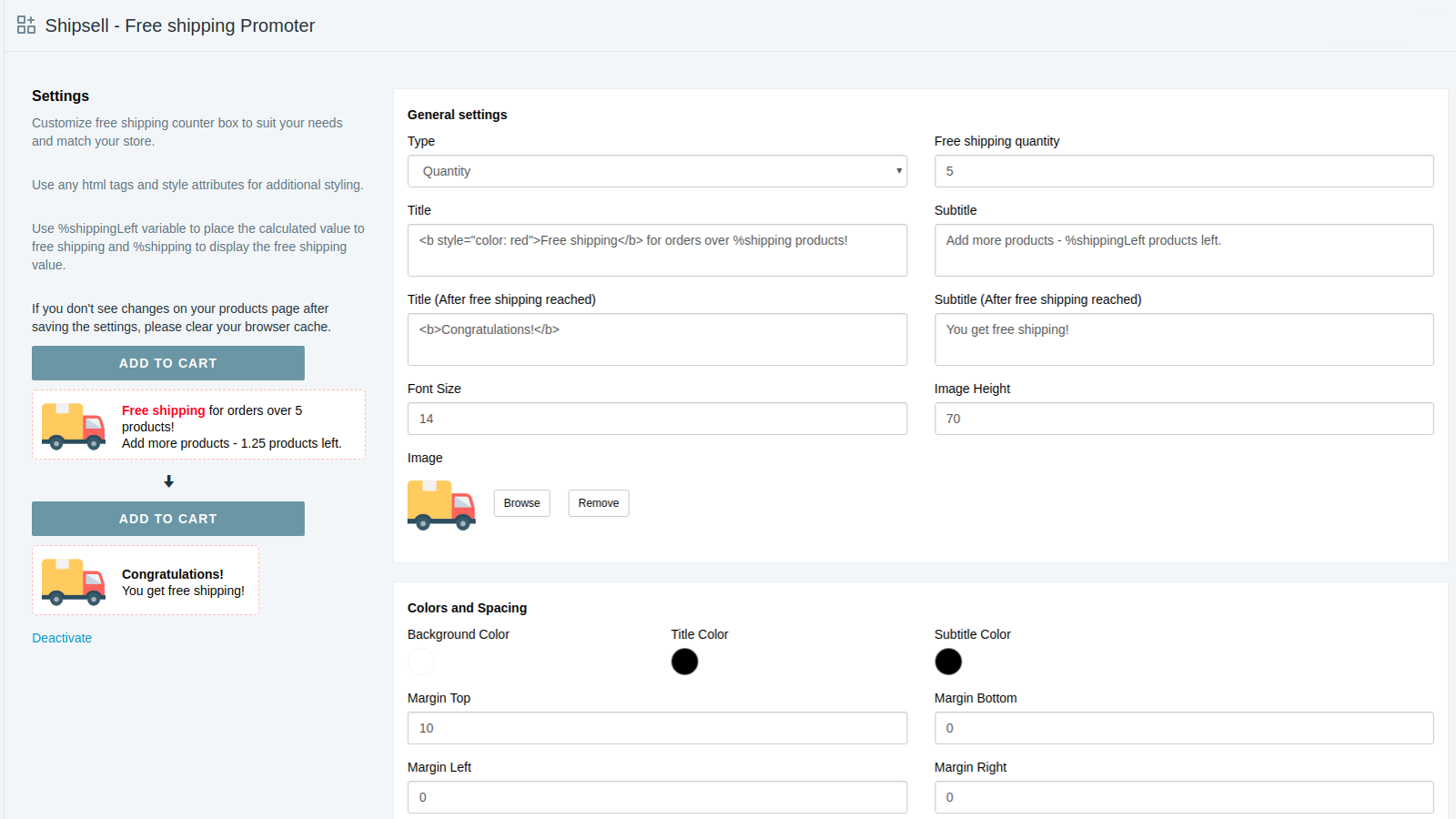 Shipping Dashboard preview