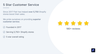5 star customer service included with all plans
