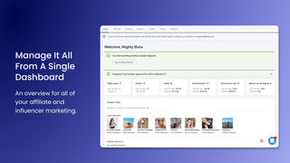 Beacons Social Selling - Dashboard