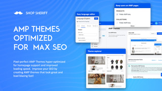 Highly Customizable AMP SEO optimized themes - for amped SEO
