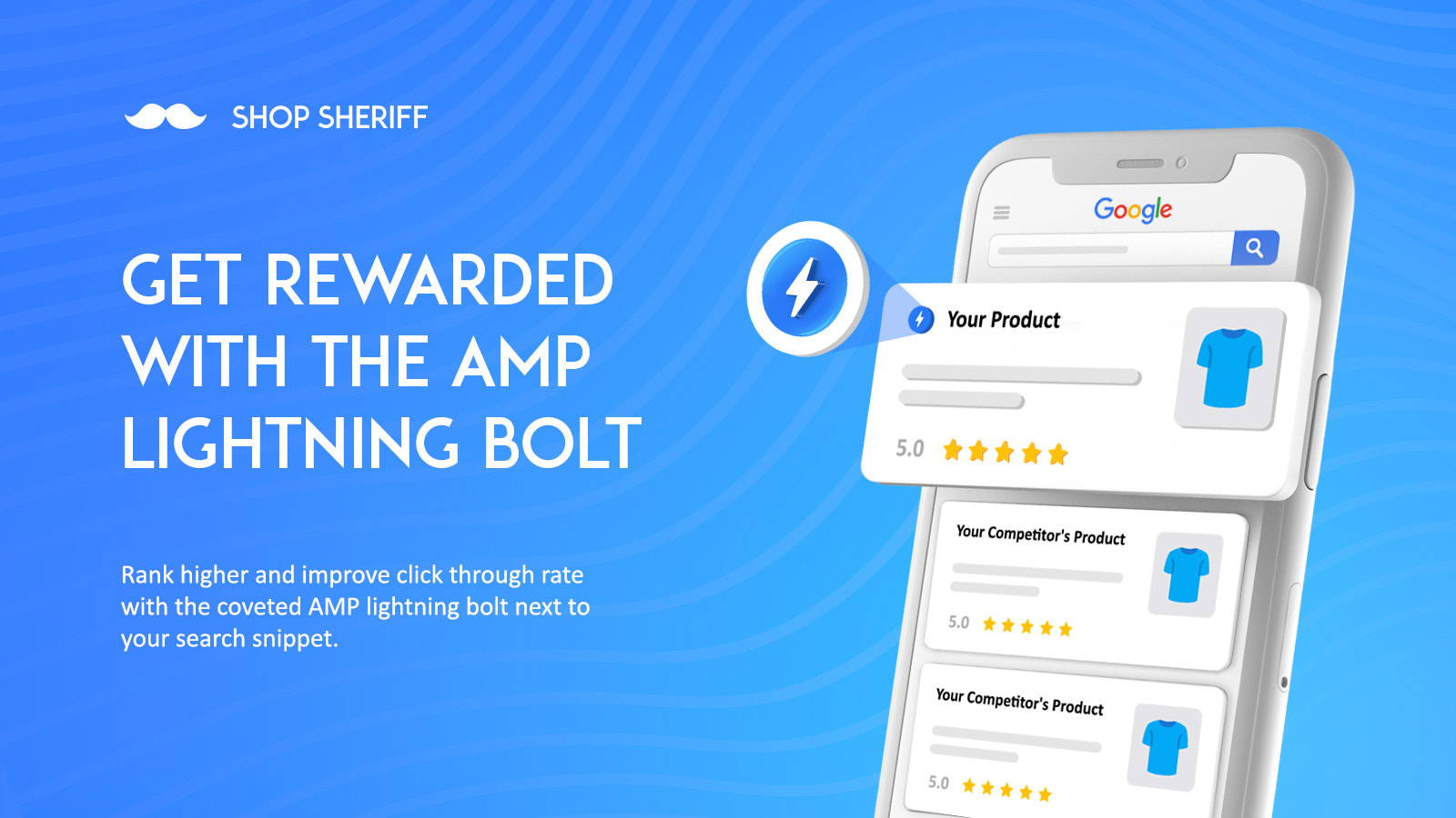 AMP Google Dashboard for SEO and Page Speed on mobile phones