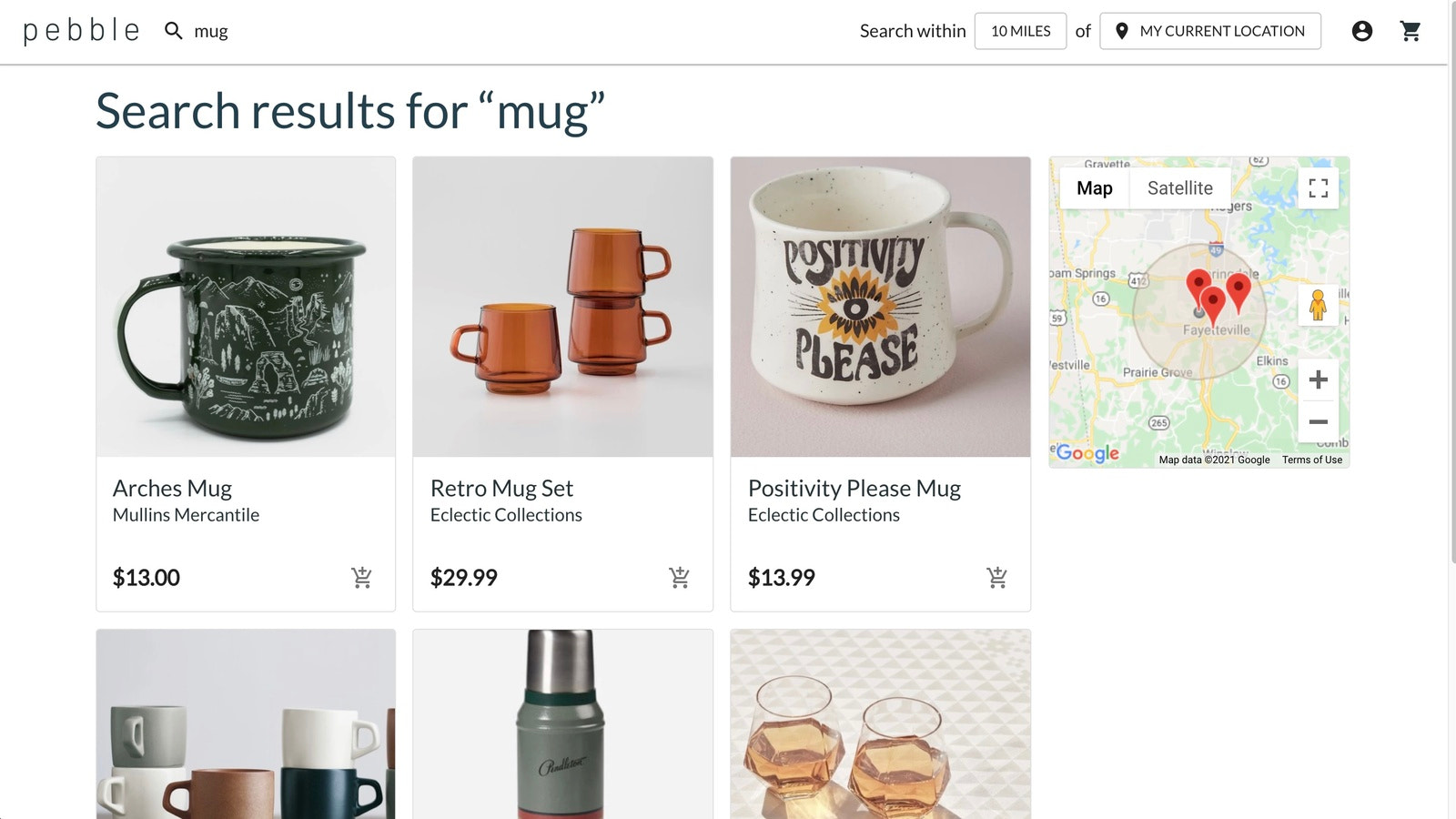 Location Based Product Search Helps Customers find YOU