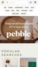 Pebble is designed mobile-first