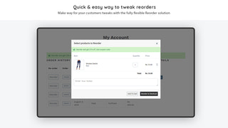 Cancel Order, Reorder, Re Order, Edit Order - Shopify App