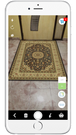Augmented Reality - Rug placement