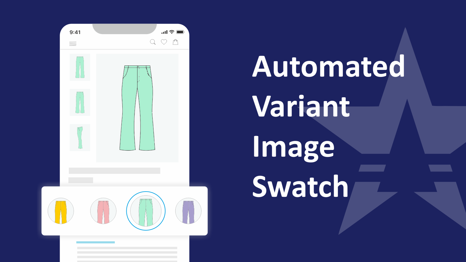 Variant Image Swatch - Variant Options Swath King Shopify