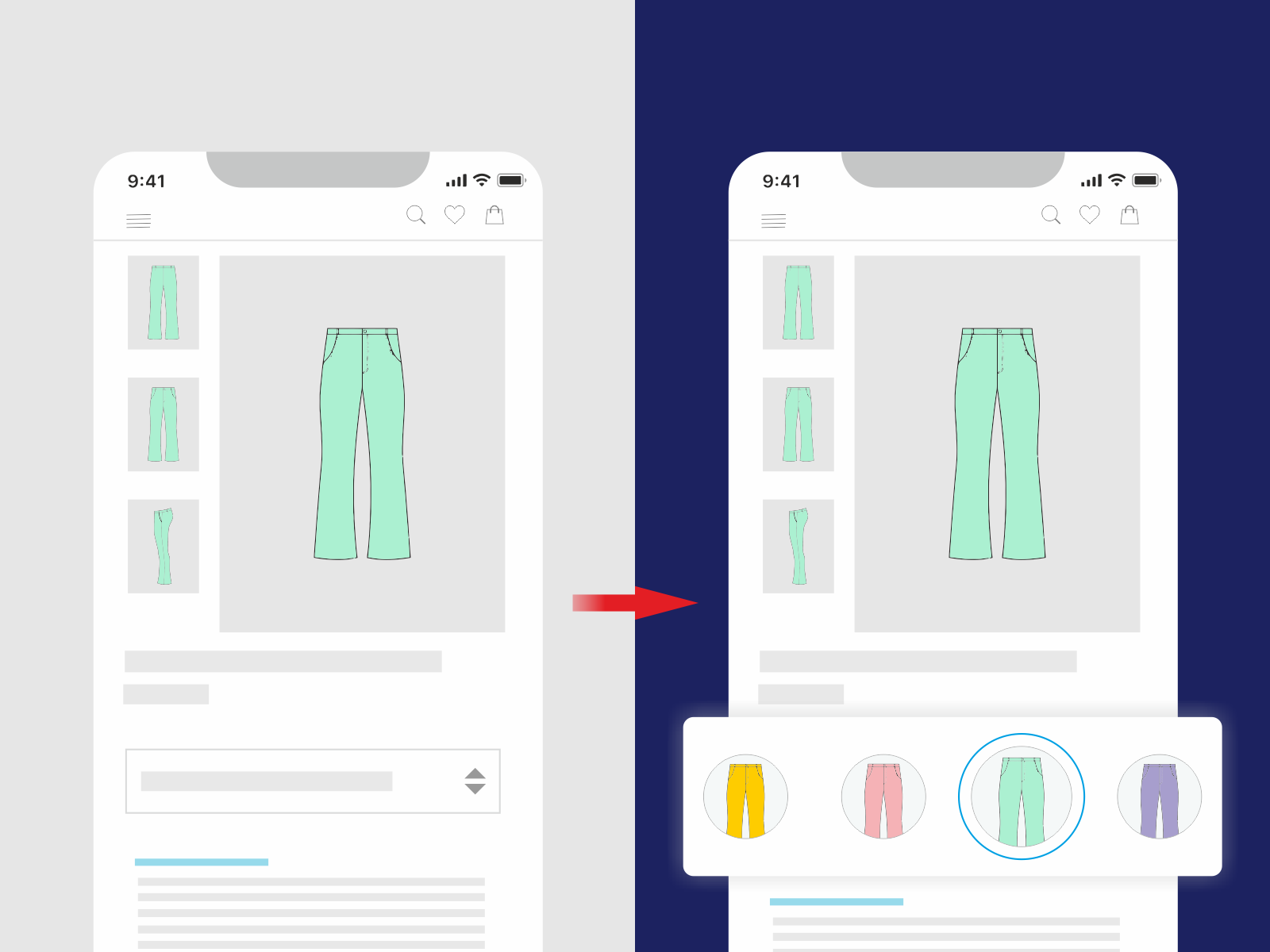 Redesign your product options