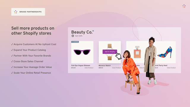Sell more products on other Shopify stores