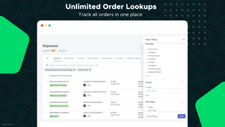 Unlimited Order Lookups