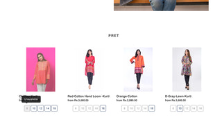 Highlight out of stock on homepage