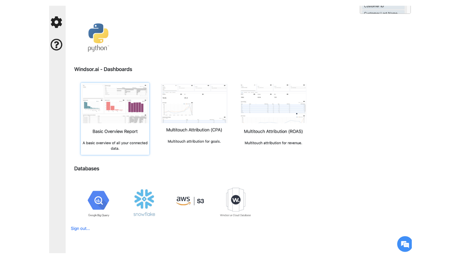 Stream your Shopify data to your data warehouse
