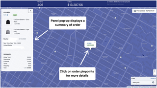 Naksalite - Map your orders - Detailed street level view