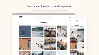 Generate sales directly from your Instagram feed