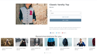 Place the recommendation widget anywhere on your site.