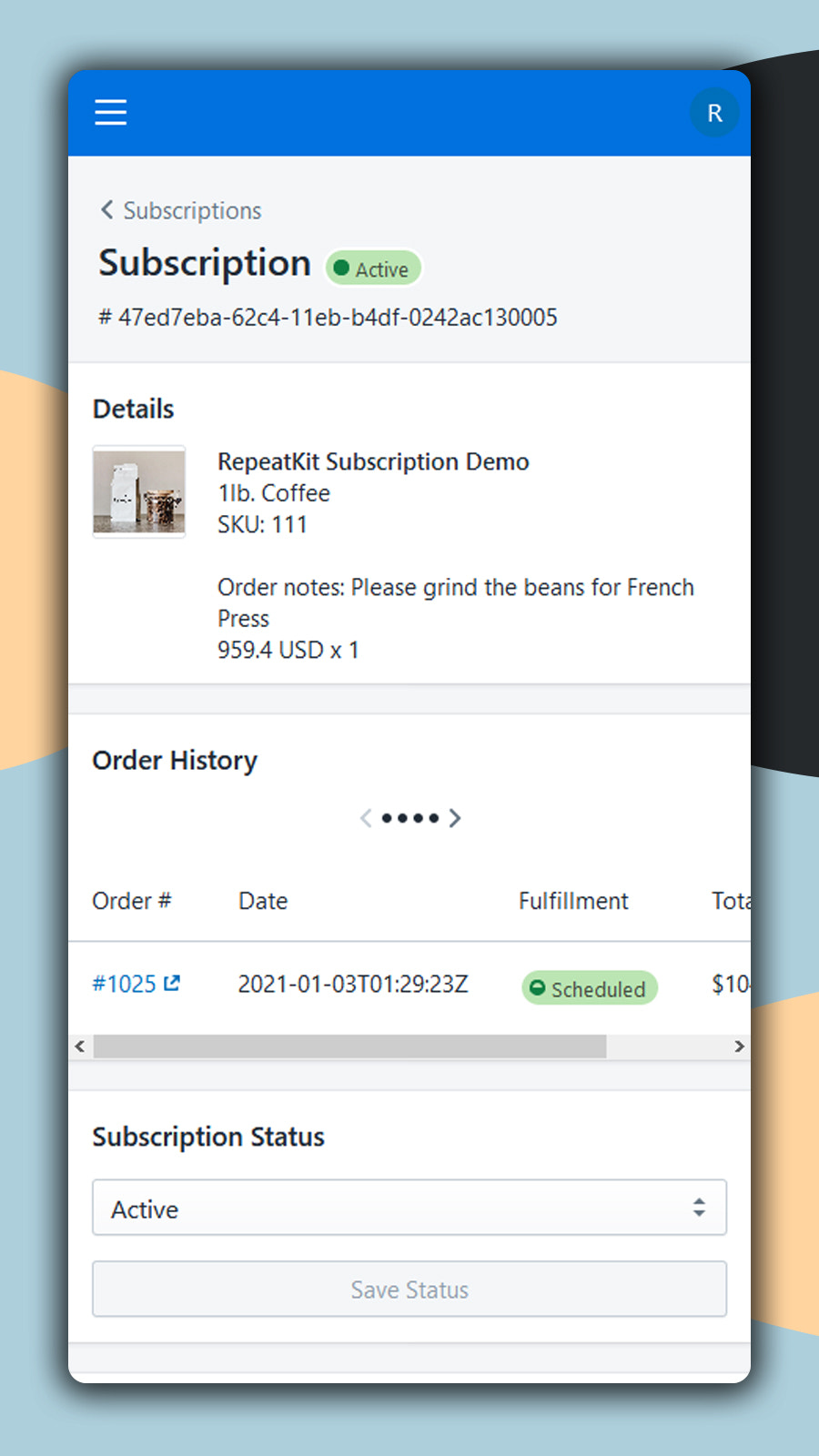 recurring billing shopify subscriptions ongoing subscriptions