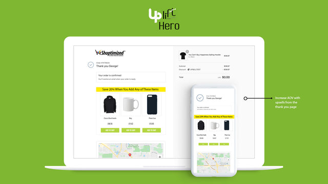 Shopify Thank You Page Upsell App