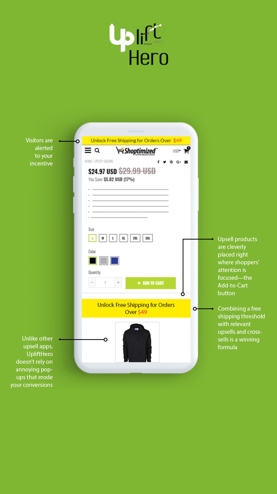 One Click Upsell App Shopify