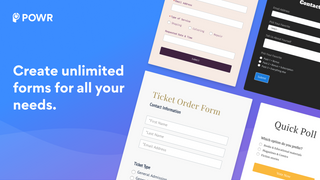 Custom forms to grow your email list, collect feedback and more.