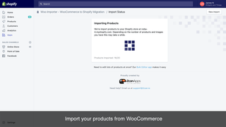Migrate WooCommerce Products to Shopify