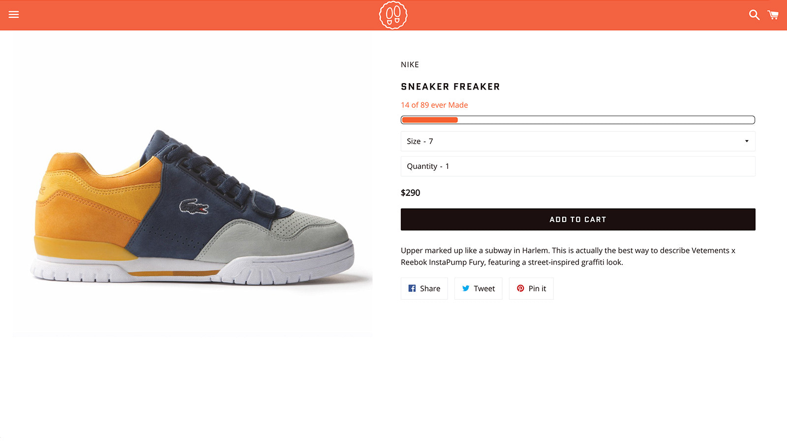 Store: Example fo result on a Product page