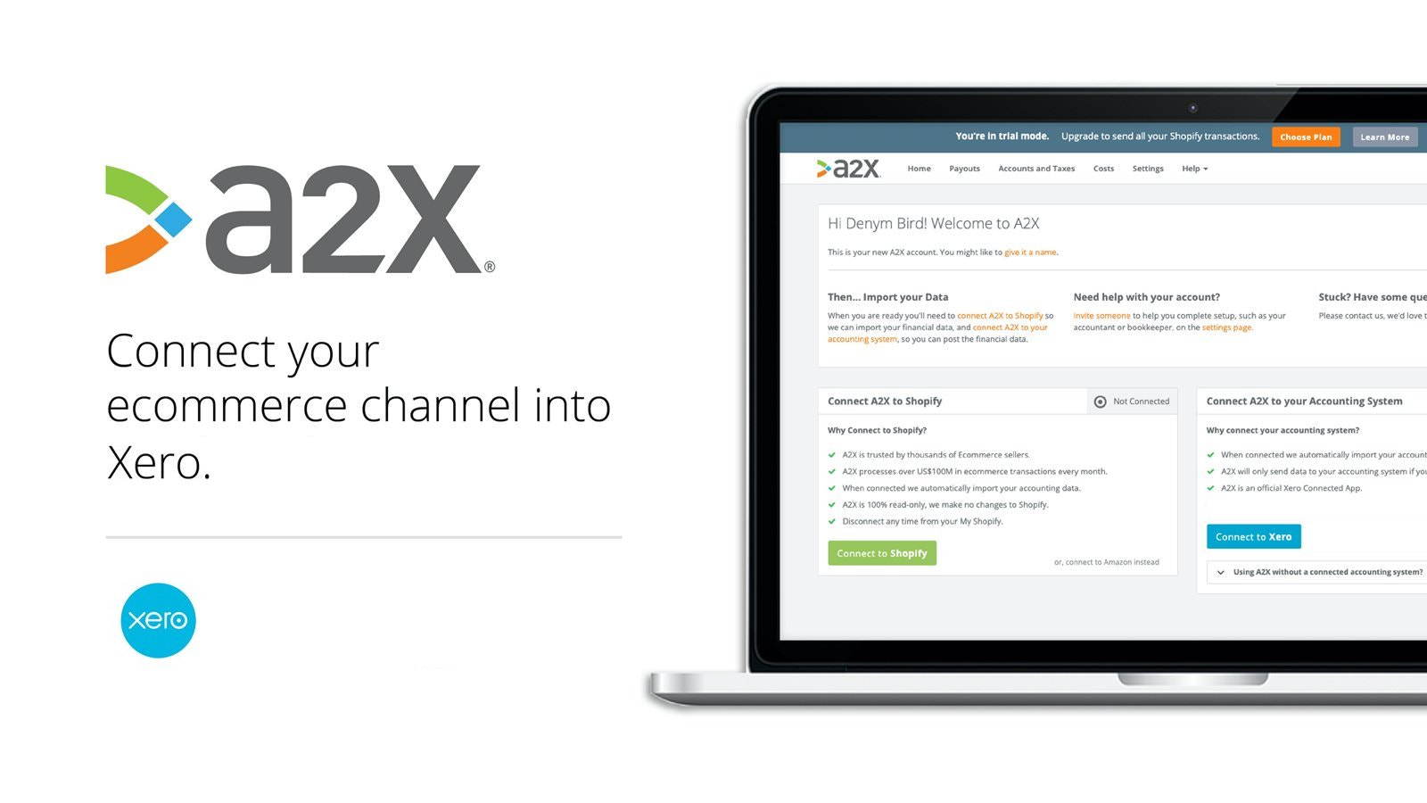 Xero and A2X - perfect for your ecommerce accounting