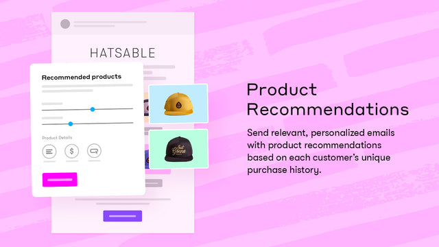 Add product recommendations to every email