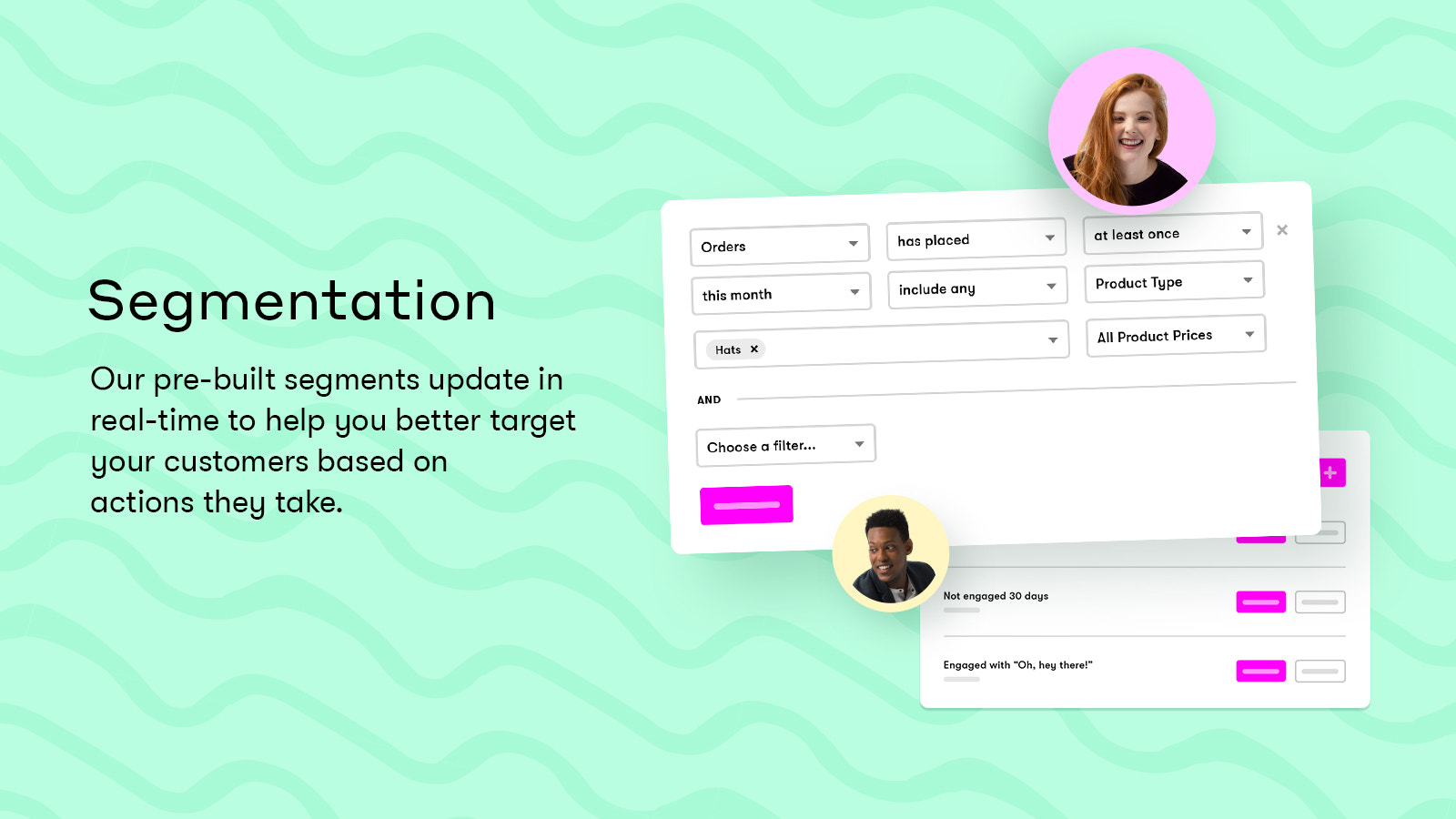 Segment all your customers in real time