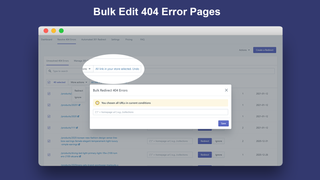 Bulk Edit 404 Error Pages_Broken Link Manager