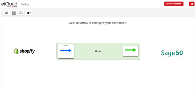 Seamless info flow between connections