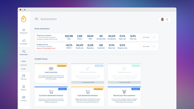 Machine Labs Automation Themes